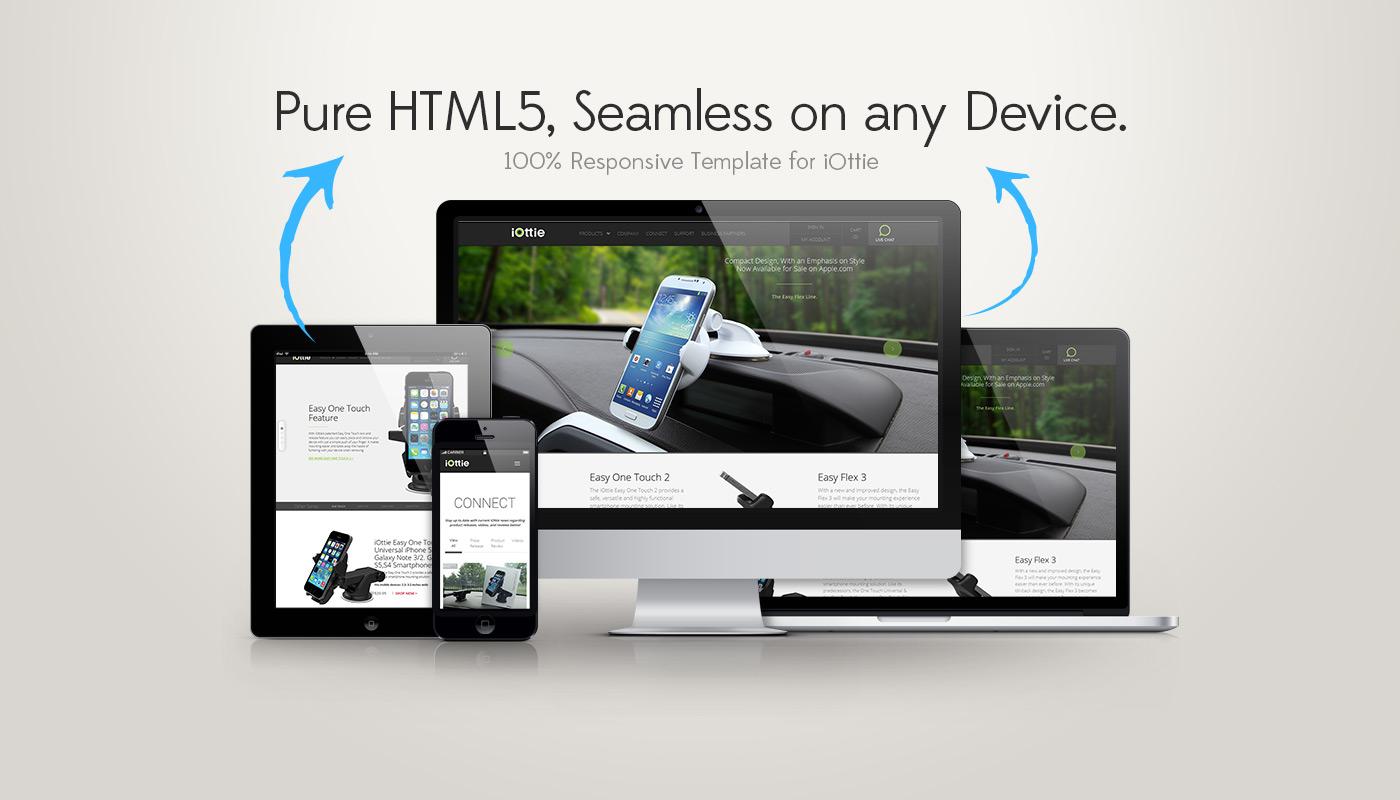 IOttie U2013 Responsive HTML5 Website Design