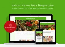 Satavic Farms – Fresh Responsive WordPress Template