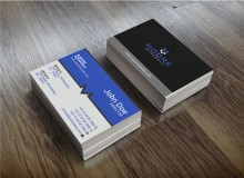 Moore Minerals – Modern Business Card