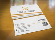 Titlis Developers – Clean Business Card