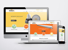 Creative, Elegant & Responsive Website for Switchit Technologies