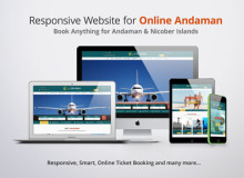 Responsive Website for Online Andaman