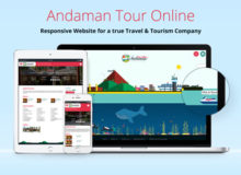 Andaman Tour Online – Engaging animated website