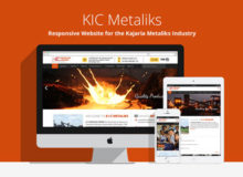 KIC Metaliks – Responsive Website for the Metaliks Industry