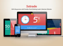 5xtrade – Stock Broking Leads Collection Website