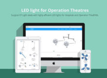 Surgical OT Light – LED light for Operation Theaters