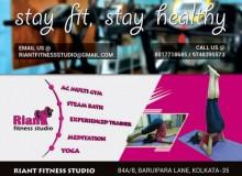 Banner for Riant Fitness Studio