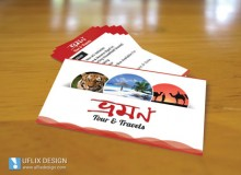Business Card for Bhraman Tours & Travels
