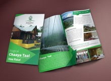 Brochure Design for Nature Hill Top Resort